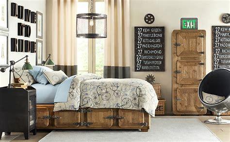boys industrial bedroom cr 233 er un d 233 cor de style industriel et chaleureux design