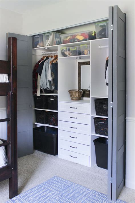 build  terrific small closet organizer