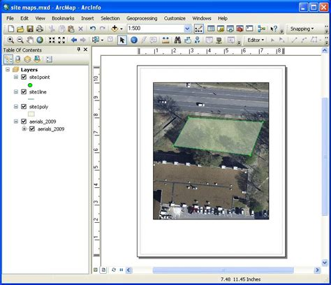 arcmap layout view button civl 1101 class presentations and notes