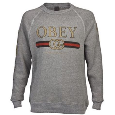 Tees T Shirt Kaos Obey 76 obey other s obey gucci pullover from s closet on poshmark