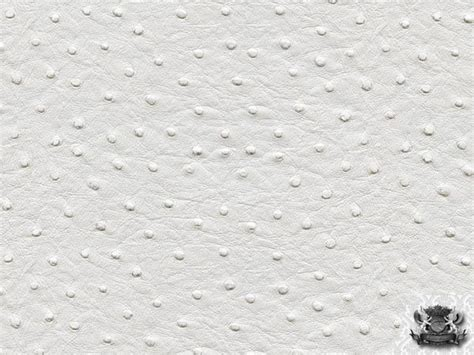 Vinyl Ostrich Upholstery Fabric - vinyl ostrich white leather upholstery fabric by the