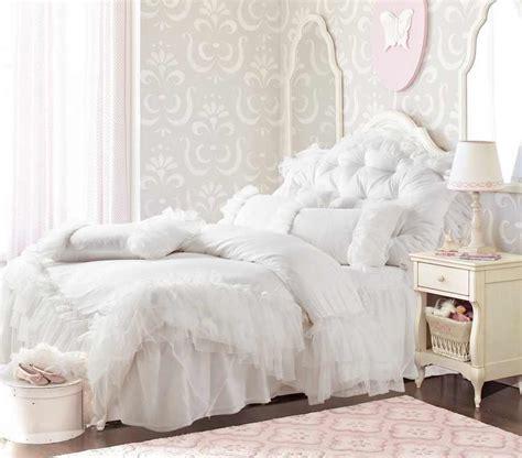 white ruffle comforter full romantic white falbala ruffle lace bedding sets princess