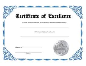 Free Sale Certificate Template by Formal Award Certificate Templates Printable Certificates