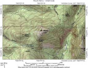 topographic maps of experimental map week 2 my own research into