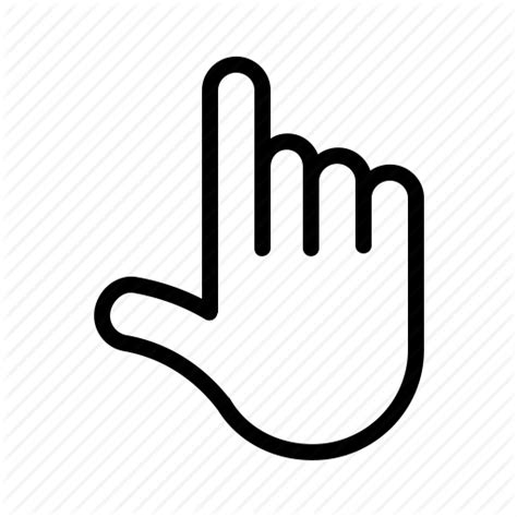 Pointer Lookup Finger Gesture Pointer Thumb Icon Icon Search Engine