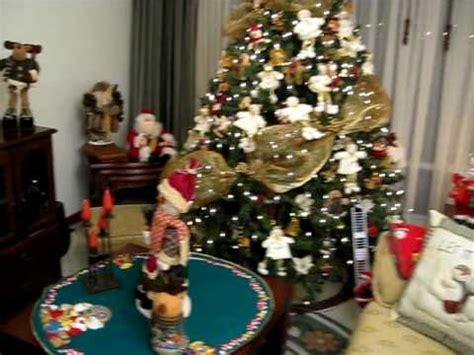 decoracion de arboles con cinta apartamento para navidad