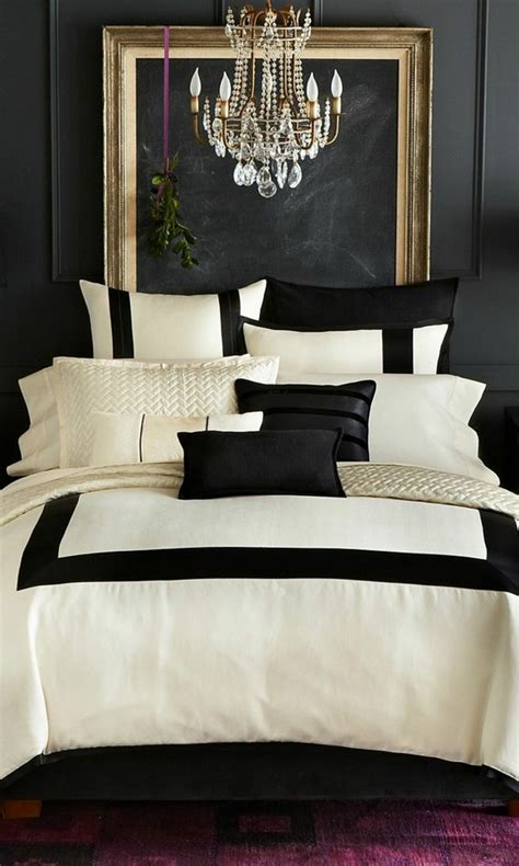 white bedroom with black accents trendy color schemes for master bedroom room decor ideas
