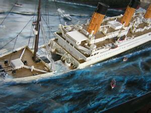 Titanic Sinking Model by Titanic Sinking 1 350 Diorama Model Boats Passengers Ebay