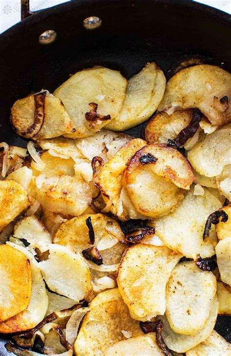 Home Fried Potatoes by Home Fries Recipe Simplyrecipes