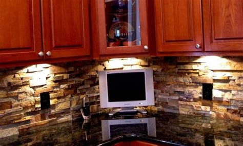 stacked kitchen backsplash airstone tile norstone stacked veneer rock panels