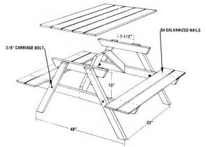 build  picnic table   easy pieces diy mother