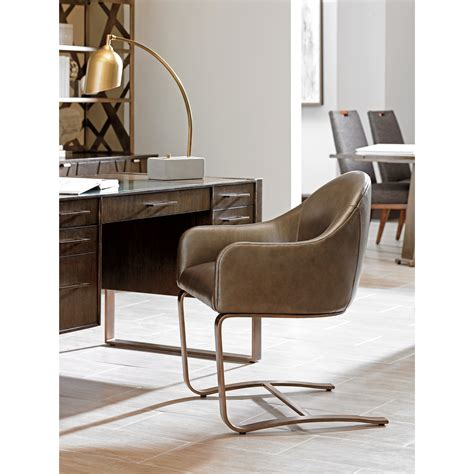 office chair with attached desk sligh cross effect contemporary upholstered desk chair