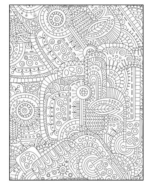 anti stress coloring book national bookstore diabolically detailed coloring book volume 4 filled