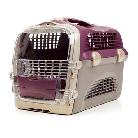 Pet Cargo Fashion Pet Cargo Kandang Untuk Jalan Jalan catit transportbox pet cargo cabrio weinrot grau bei
