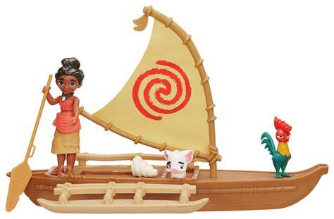 moana playset with boat disney moana small figure playset assortment