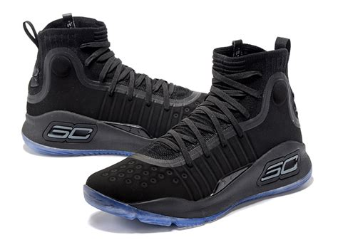 Curry 4 Black Blue armour curry 4 black blue sole for sale new