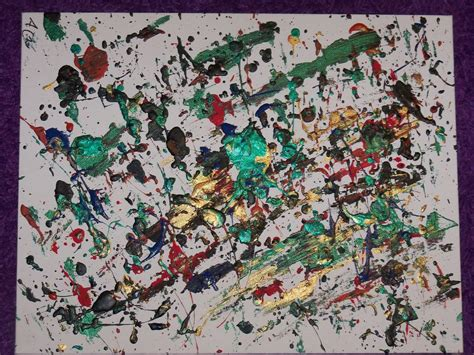 how to splatter acrylic paint on a canvas splatter paint acrylic painting by cichantea on deviantart