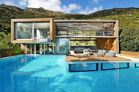 amazing modern houses spa house is an amazing modern home from south africa