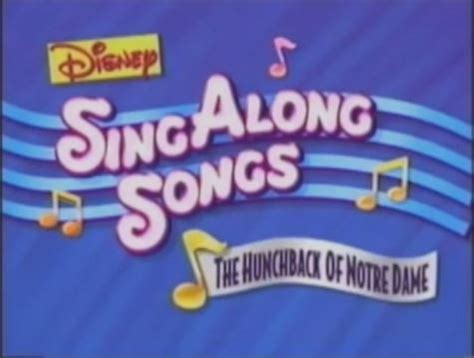 Buku Import Disney My Favourite Adventures image disney sing along songs the hunchback of notre