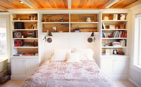 how to make a bookcase headboard clever furniture combinations bookcase headboards