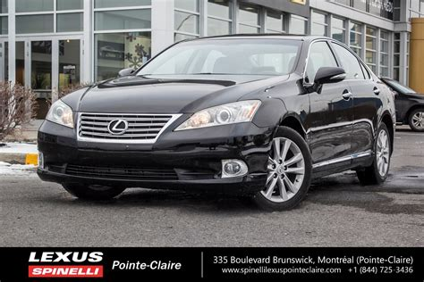 vehicle repair manual 2012 lexus es electronic valve timing used 2012 lexus es 350 touring navigation package nav sunroof rear cam in montreal laval and