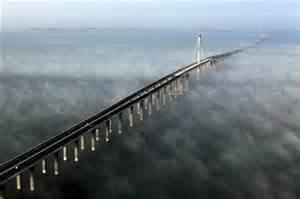 jiaozhou bay bridge qingdao huangdao china in photos