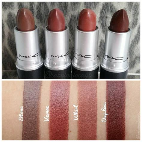 Makeup Mac need mac verve lipstick swatch mac lipsticks