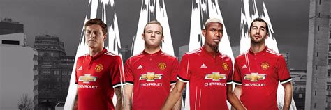 manchester united official 2017 1785492217 manchester united 2017 18 adidas home kit todo sobre camisetas