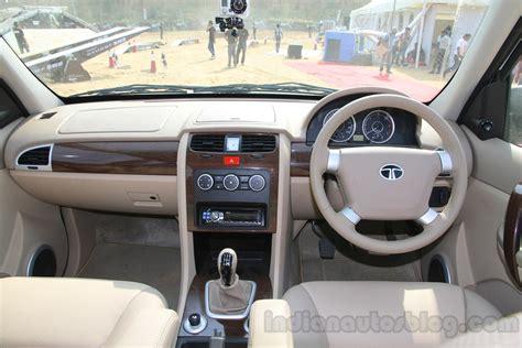 Tata Safari Storme Top Model Interior by Tata Safari Storme Launched At 9 95 Lakhs Pics Info Inside