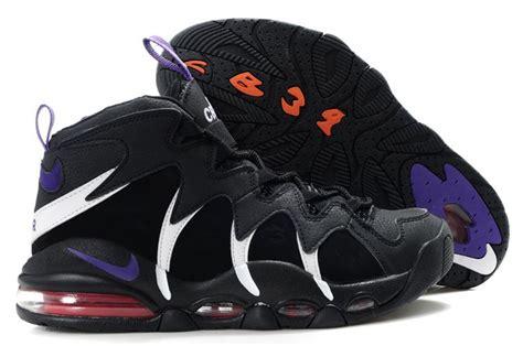 charles barkley shoes nike air max cb34 black white purple charles barkley