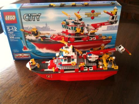 toy boat with fire home design lego city fire boat