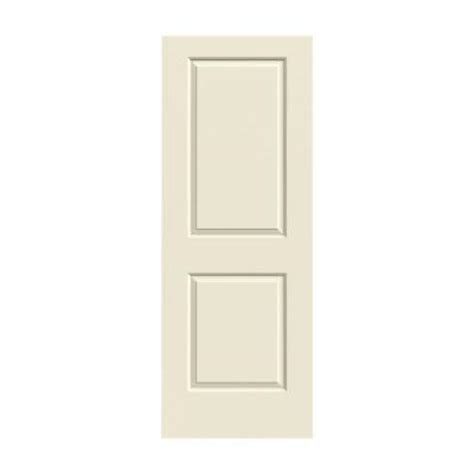 jeld wen 30 0 in x 80 in smooth 2 panel solid primed molded interior door slab