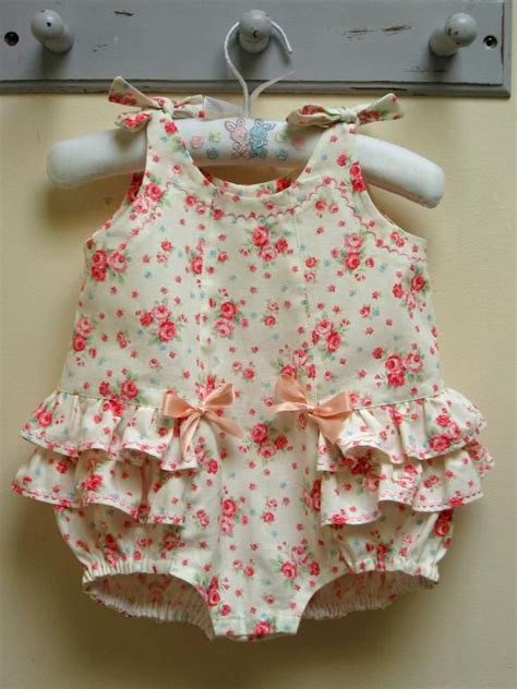 baby clothes pattern sewing rose bud romper by felicity patterns rompers babies