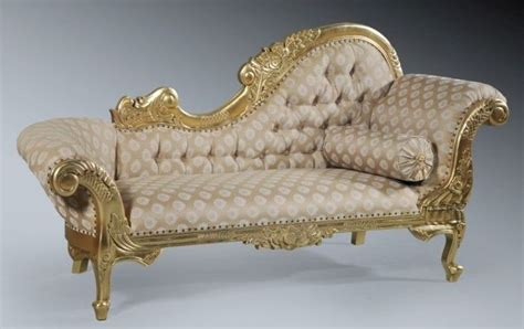 chaise rococo mahogany rococo gilt gold leaf period ornate chaise lounge longue sofa chaise lounges