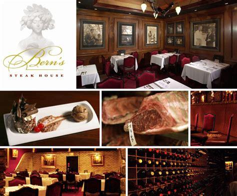 Berns Dessert Room Menu by Bern S Steak House And Dessert Room 1208 South Howard