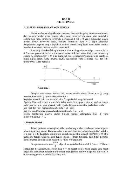 makalah format instruksi makalah analisa numerik dan komputasi tugas kelompok