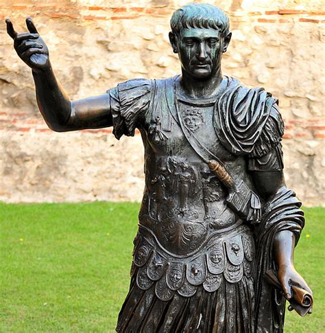statue believed to be roman emperor trajan flickr