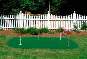 Backyard Putting Green Accessories Backyard Putting Green Installation Starpro Greens
