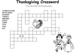 printable thanksgiving crossword puzzles thanksgiving puzzles and coloring pages daily dish with