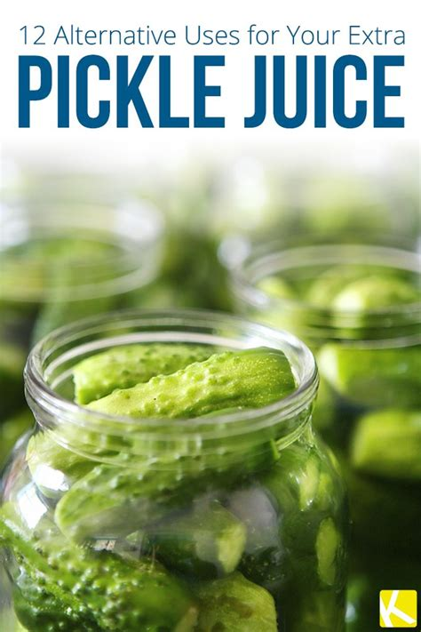 Does Pickle Juice Detox Your by 12 Alternative Uses For Your Pickle Juice