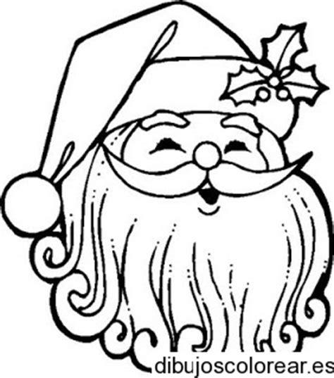 imagenes de santa claus a lapiz dibujo de un rostro de santa claus