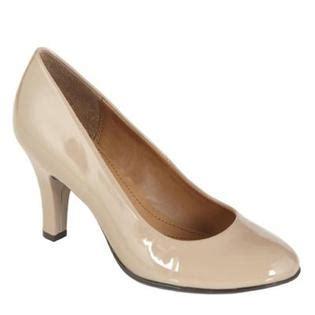 nude comfortable heels cheap jaclyn smith women s comfort nude dress pump
