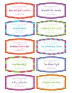 coupon book for template best photos of birthday gift coupon template free