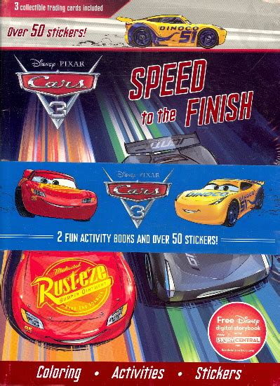 disney pixar cars sticker activity book with 200 stickers set by anon sticker books at the works disney pixar cars 2 fun activity books and over 50 stickers bookoutlet ca