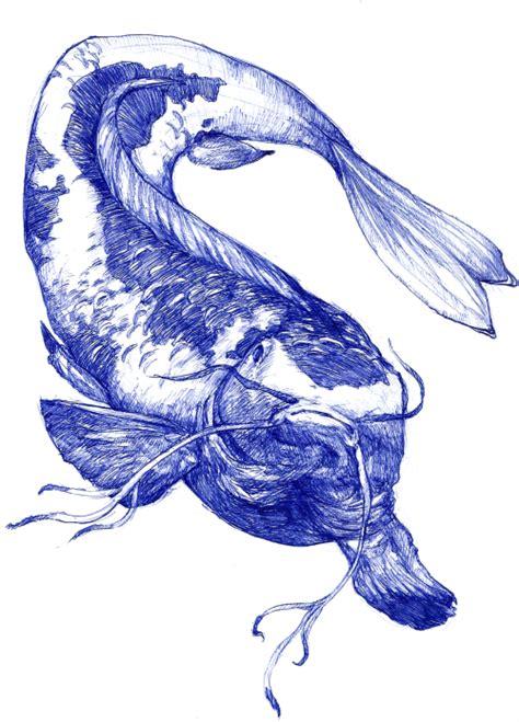 sketchbook koi sketch doodle sketchbook koi koi fish ballpoint pen