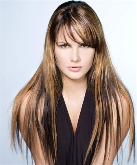 highlights hairstyles pictures chunky highlights hairstyles pictures