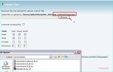tutorial woocommerce wordpress indonesia menganti wordpress dan woocommerce ke bahasa indonesia