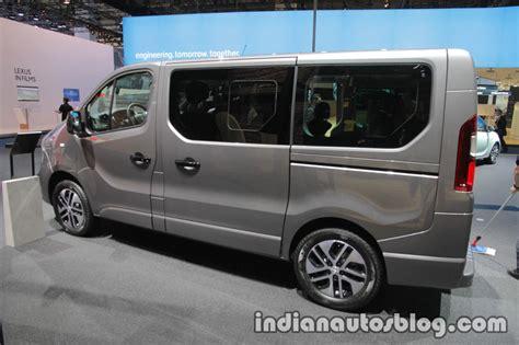 opel vivaro 2017 2017 opel vivaro tourer at iaa 2017 indian autos blog