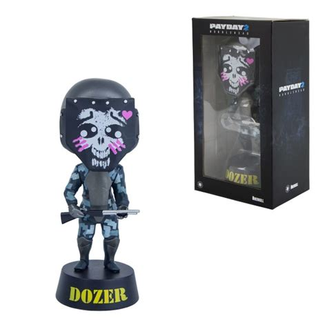 payday 2 bobblehead mask payday 2 figure dozer bobblehead figurines statues