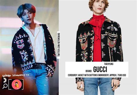 Harga Gucci V Bts til kece ini harga baju yang dipakai bts saat manggung